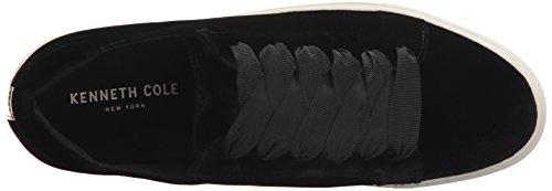 Descuento buena venta Kenneth Cole New York Plataforma Abadía Zapatilla De Deporte De La Moda De Encaje Terciopelo Negro De Las Mujeres Wiki Barato en línea 24oas4E