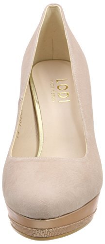 lodi Wendoly-39, Scarpe Col Tacco con Plateau Donna Rosa (Ante Candy/Opac Nude Candy)