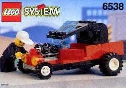 1994 Lego Town System 6538 Rebel Roadster