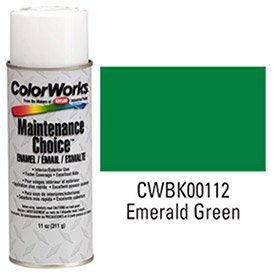 Modified Emerald - Krylon Industrial Colorworks Enamel Emerald Green - Lot of 6