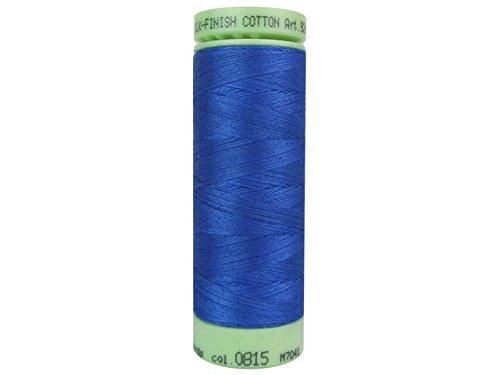 Mettler Fine Embroidery Thread - Mettler Silk-Finish Solid Cotton Thread, 220 yd/200m, Cobalt Blue