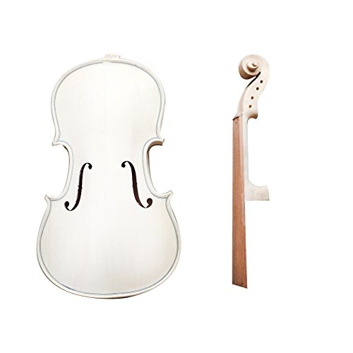 Zimo Make Your Own Full Size 3/4 Natural Acoustic Violin DIY Kit by Zimo®