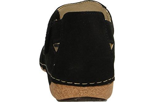 Waldläufer Women's 342012 191 001 Fashion Sandals Black yeCu10X