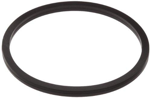 018 Buna-N O-Ring, 70A Durometer, Square, Black, 3/4