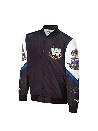 Stone Cold Steve Austin Vintage Chalk Line Jacket Black Extra Large