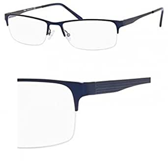 ELASTA Eyeglasses 3099 0DL9 Matte Navy 58MM