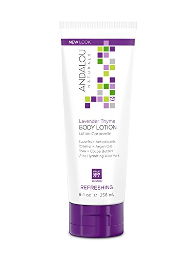 - Andalou Naturals Lavender Thyme Refreshing Body Lotion, 8 Ounce
