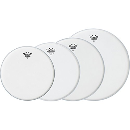 Remo Ambassador X Standard Drumhead Pack, Buy 3 Get a Free 1