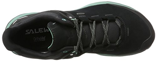 Salewa Men's Ms Wander Hiker Gore-Tex Low Rise Hiking Shoes Black (Black Out / Berly Green 0499) fktaFeiL