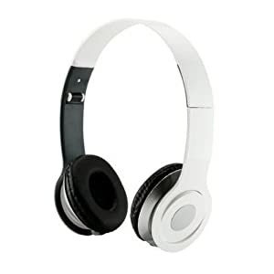 Roberts Fojjers Special Foldable Over the Head Stereo Dj Headphone 3.5 Mm for Pc Tablet Music Video & All Other Music Players.. (White Angle)