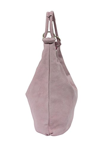 Large Tote Suede Bag Bag Leather Bucket Bag Handbag Rosé Shoulder Hobo WL822 Bag Women's Pq5tvAxAw