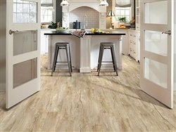 "Shaw Floors Classico Plank 5.83"" Luxury Vinyl Tile Flooring Latte Sample"