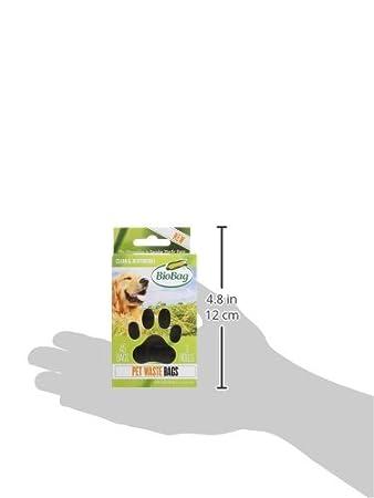 Bolsas de basura biodegradables bolsas de residuos perro/mascotas en un rollo 45 cada caja (Pack de 4): Amazon.es: Salud y cuidado personal