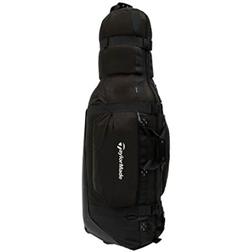 TaylorMade Golf Players Travel Cover Bag Black With Wheels 2018 Model