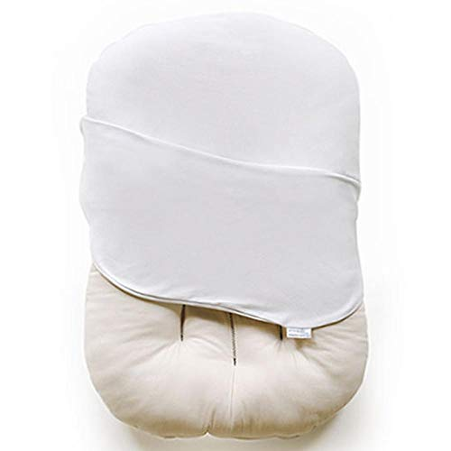 Snuggle Me Organic   Patented Sensory Lounger for Baby   Organic Cotton, Virgin Fiberfill   Frost