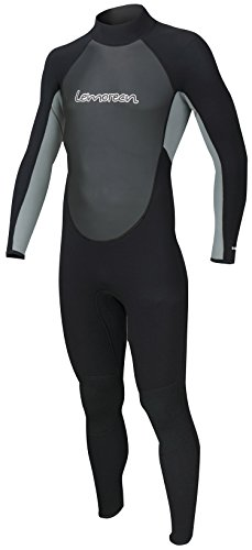 Lemorecn Wetsuits Mens Neoprene 3/2mm Full - Full Length Mens Wetsuit