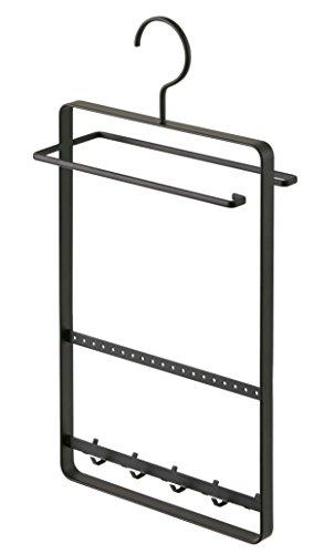 YAMAZAKI home Tosca Sunglass Plus Accessory Hanger, Black