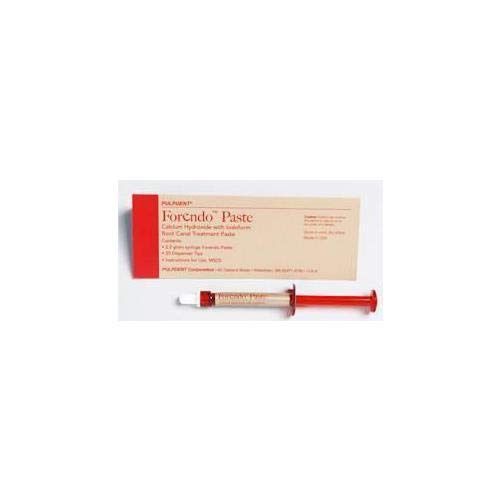 PULPDENT PU-Fore Forendo Paste Calcium Hydroxide Syringe (Pack of 1)