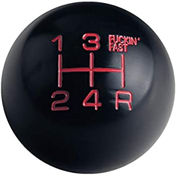 Serbia Red Metal Flake with M16 x 1.5 Insert American Shifter 303241 Shift Knob