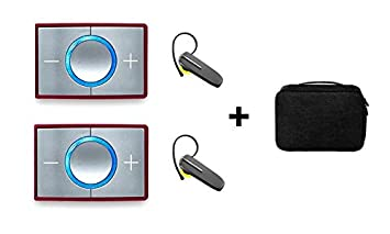ceecoach 2 Bluetooth Duo Bluetooth Set Incluye auricular Bluetooth y funda: Amazon.es: Instrumentos musicales