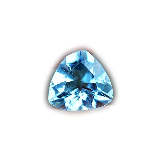 Lovemom 3.21ct Natural Trillion Swiss Blue Topaz Brazil #W