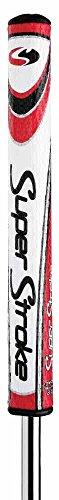"Super Stroke Mid Slim 2.0 Putter Grip, Oversized, Lightweight Golf Grip, Non-Slip, 10.50"" L X 1.20"" W, USGA Approved, Red"