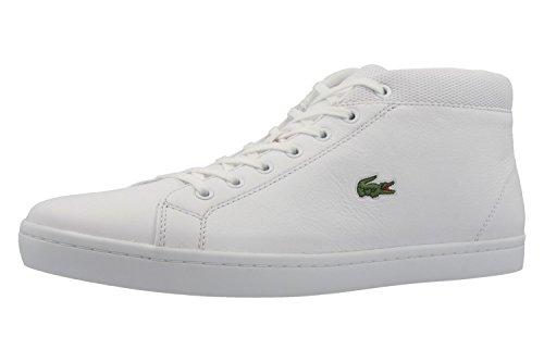 Lacoste , Chaussures de ville à lacets pour homme Blanc Blanc