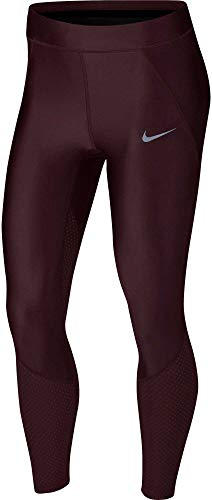 NIKE Women's Speed Cool 7/8 Running Tights (Burgundy Crush, X-Large) by Nike (Image #1)
