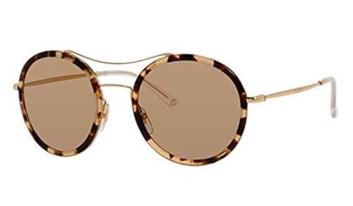 Gucci Sunglasses - 4252 N / Frame: Havana Honey Gold Lens: Brown - Gold Gucci Mirror Sunglasses