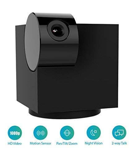 Blackbox S 1080p Wireless Indoor Home Security Camera [2.0 Megapixel, Pan/Tilt/Zoom, Night Vision, Motion Alerts, Two-Way Talk, Local Storage]