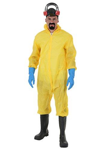 Saiyan Suit Costume (Breaking Bad Hazmat Suit Adult Costume)