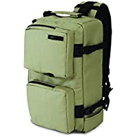 Pacsafe Camsafe Z14 Anti-Theft Camera and Tablet Cross-Body Pack, Slate Green