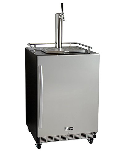 Kegco HK38BSC-1 Full Size Digital Commercial Undercounter Kegerator w/X-CLUSIVE Dispense Kit