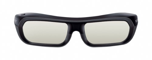 - Sony TDG-BR250/B Rechargeable 3D Adult Glasses, Black