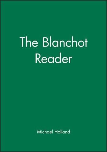 The Blanchot Reader (1995-10-09)