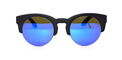 Óculos de Sol de Bambu Carmel Black, MafiawooD
