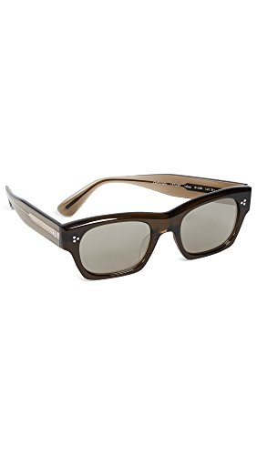 Oliver Peoples Eyewear Men's Isba Sunglasses, Dark Military, One - Peoples Oliver Sunglasses