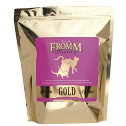 Fromm Kitten Gold Dry Cat Food, 2.5-Pound Bag ()