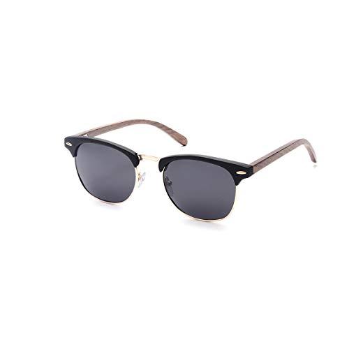 SKADINO Wood Sunglasses with Polarized Lenses-Handmade Floating Skateboard Wooden Shades for Men & Women-Pink SKD004