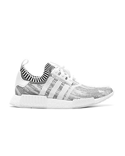 adidas Originals NMD_R1 PK Mens Running Trainers Sneakers Shoes Prime Knit (UK 9 US 9.5 EU 43 1/3, Oreo Glitch Core Black By1911) -  BY1911_Ftwwht and Cblack_9
