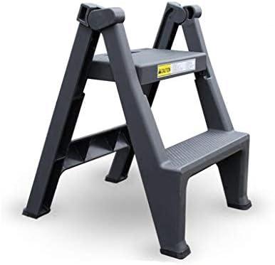SMBYLL Escalera Taburete Lavado de Autos Taburete de plástico Plegable pequeño Escalera portátil multifunción Escalera de Dos Pasos Escalera Interior de Engrosamiento Taburete Escalera: Amazon.es: Hogar