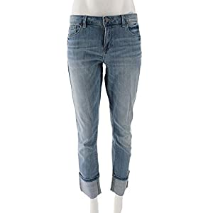 Laurie Felt Denim Stiletto Jeans Cuff A305700