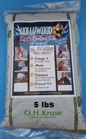 (Hollywood Rabbits Feed 5lb Premium Feed | Hand Crafted High-Fiber | Probiotics for Digestive Health )