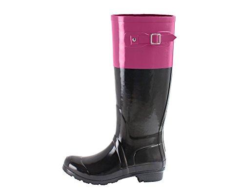 Noxon Ankle Boot Rubber Rain Fuchsia Women's OAKI Boots Wellies Oakiwear Rqw1477