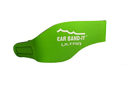 EAR BAND-IT ULTRA Swimming Headband - Best Swimmer's Headband - Keep Water Out, Hold Earplugs In - Doctor Recommended - Water Protection - Secure Ear Plugs - Invented by ENT (Kids Earband)