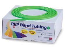 Alpha Medical REP Band Resistance Exercise/Therapy Tubes, 25 ft (Level 3)