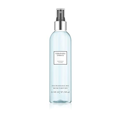 Iris Blossom - Vera Wang Embrace Body Mist for Women Periwinkle and Iris Scent, 8 Ounce Body Mist Spray Passionate Floral and Sparkling Fragrance