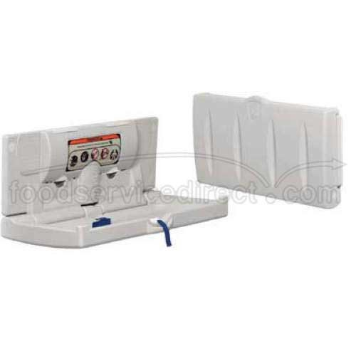 Continental White Vertical Baby Comfort Oasis - Change Diaper Station - 1 each.