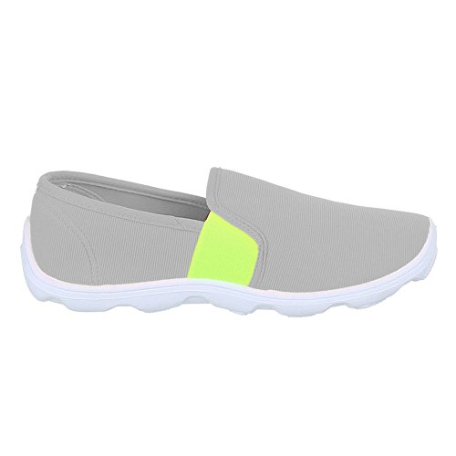 Ital-Design Women's Shoes Grey bhkNAP
