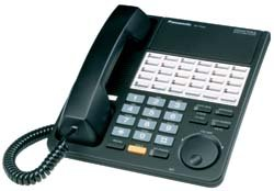 Telephone Td Systems Kx (Panasonic KX-T7425-B Black Phone)